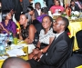 Guests at the Diaspora Dinner held at the Serena Victoria Ballroom on Thursday. PHOTO BY KALUNGI KABUYE