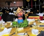 decoration was by Stella Atal at the 2011 Diaspora dinner held at the Serena Hotel last Thursday. PHOTO BY KALUNGI KABUYE