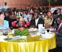 the high tbale at the 2011 Diaspora dinner held at the Serena Hotel last Thursday. PHOTO BY KALUNGI KABUYE