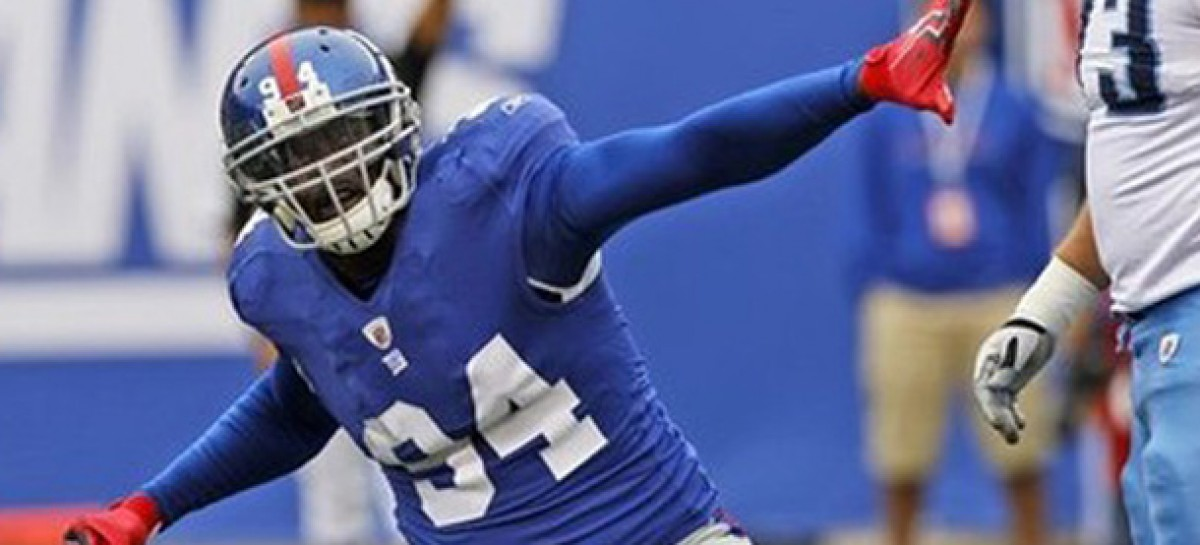 Ugandan Footballer, Kiwanuka Mathias of the New York Giants