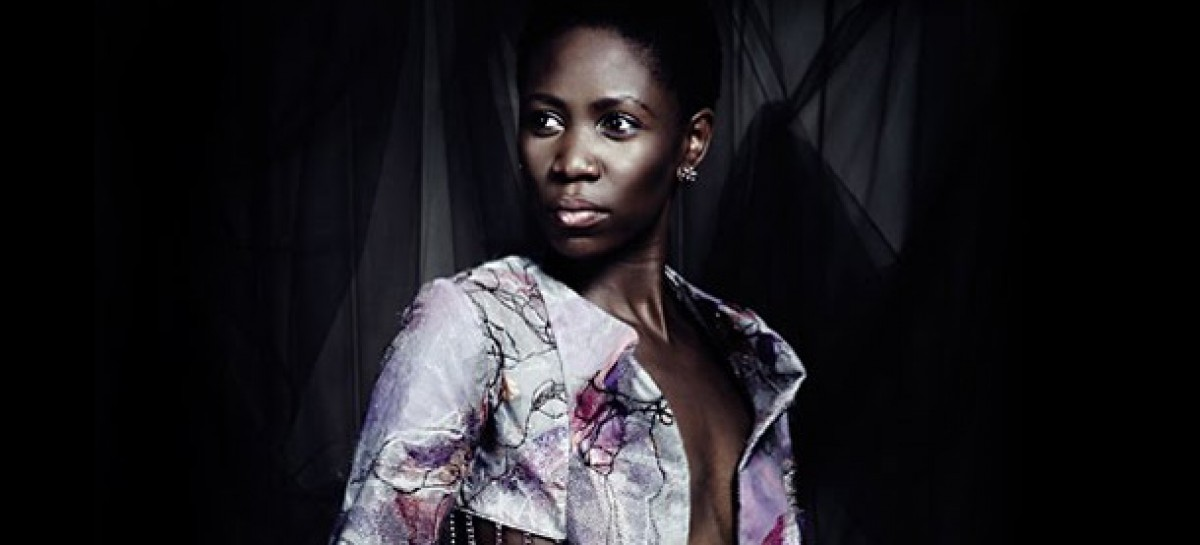 Ugandan Model,  Camilla Barungi,  strides the Project Runway