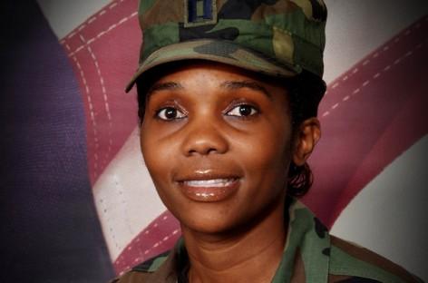 Ugandan Lukiah Mulumba, US Air Force Officer at rank of Captain