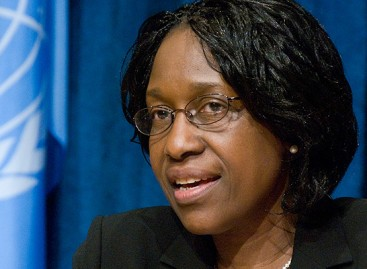Rachel N. MAYANJA  is UN Secretary General's Special Adviser