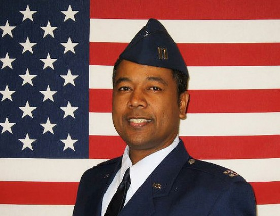Dr. Ivan Edwards, a Ugandan, is a Major in the US Air Force, Serving as a Flight surgeon