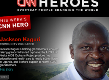 Jackson Twesigye Kaguri Is Uganda's CNN HERO For 2012 | Founder Of The Nyaka AIDS Foundation