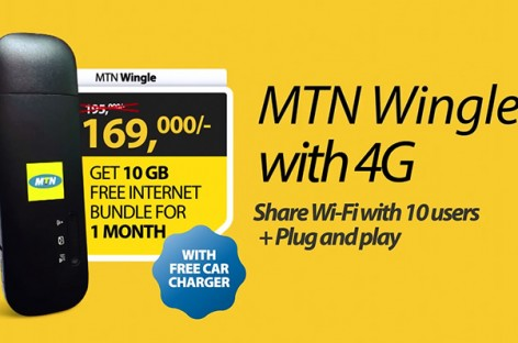 MTN,  2016 Diaspora Gala Event Sponsor ~ Get the MTN Wingle with 4G at the Gala on Dec 30th