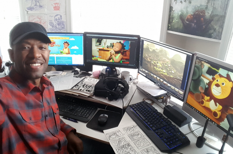 Solomon W. Jagwe ~ Creator of the Adventures of Nkoza & Nankya ~ Diaspora Animation Award Recipient